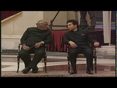 Presentation of Bharat Ratna to Prof. CNR Rao & Sachin Tendulkar - LIVE