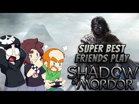 Super Best Friends Play Middle-earth: Shadow of Mordor (PS3)