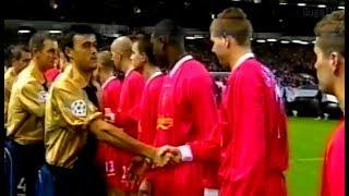 مباراة لم تشاهدها في حياتك   ليفربول ضد برشلونة في ابطال اوربا عام 2002 وهدف كلايفورت العالمي