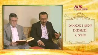 Prof. Dr. Alaaddin Başar - Ramazan-ı Şerif 4. Bölüm 7 - 9 Nükteler