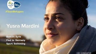 #TeamRefugees: Yusra Mardini