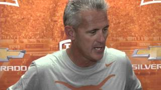 Shawn Watson media availability [Sept. 9, 2014]
