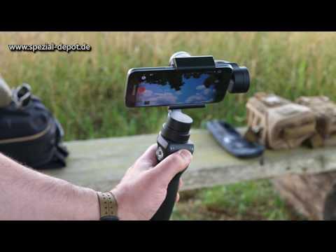Blick hinter die Kulissen - Filmausrüstung für Einsteiger (Gimbal)