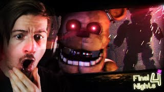 THIS ABANDONED HOUSE IS HAUNTED BY ANIMATRONCS!? || Final Nights 4 (This game is crazy..)