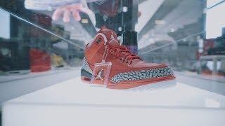 """Showcasing RARE DJ Khaled Air Jordan 3 """"Grateful"""" @ Sneakerness Cologne 2017 (4K) - Crep Protect"""