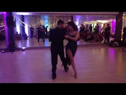 UKDC - Xmas Party - Maria & Leandro (Tango freestyle) - video by Zouk Soul