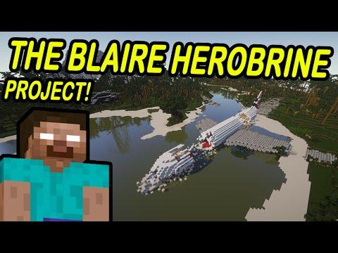Minecraft: PLANE CRASH!   Hunt for Herobrine!   Entry 1 of 3
