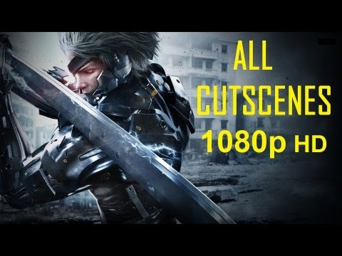 Metal Gear Rising Revengeance - All Cutscenes 1080p movie HD Every cutscene in order Revengeance