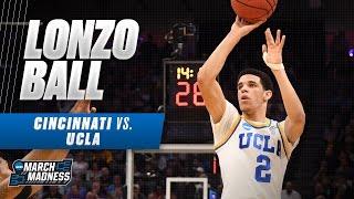 Cincinnati vs. UCLA: Lonzo Ball drops 18 for Bruins