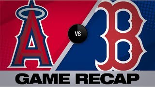 Homers power Red Sox to 16-4 victory | Angels-Red Sox Game Highlights 8/9/19