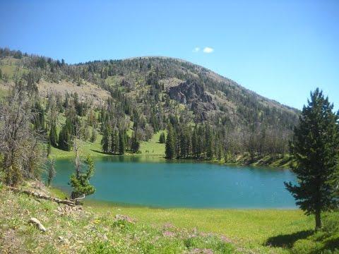 Backpacking Yellowstone National Park:  Sportsman Lake, Shelf Lake, Bighorn Pass Loop