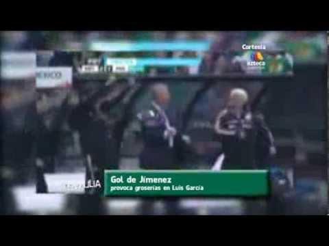 Gol de Raúl Jímenez provoca groserías en Luis García