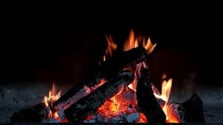 10 Hours of Fireplace  | Şömine su | Falling Asleep  With Relaxing Piano Music