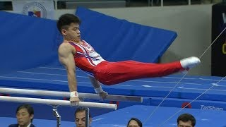 Carlos Yulo | Gymnastics Artistic Parallel Bars Final | 2019 SEA Games