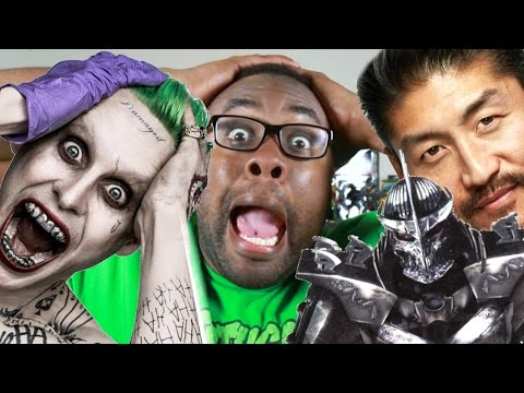 JARED LETO JOKER and BRIAN TEE SHREDDER : Black Nerd