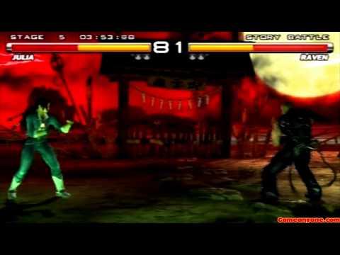 Tekken 5 - Story Battle - Julia Playthrough