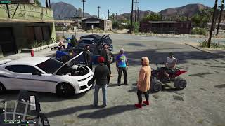 CHILL CAR MEET | NEW CARS IN THE CITY | WILD SIDE RP