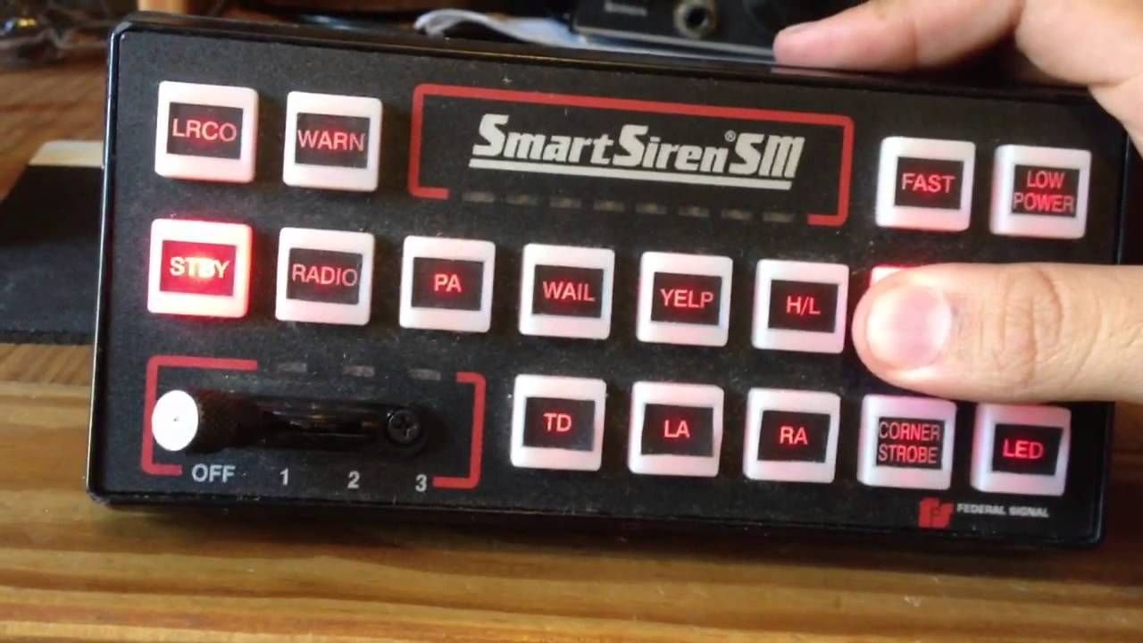 federal signal smart siren 2000sm