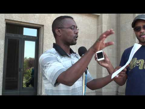bilal tube - Ethiopian Muslim in Canada Winnipeg Protest against Ethiopian Government on Aug 11, 201