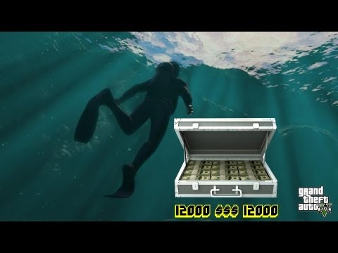 GTA V dinero facil maletin 12000 $$$