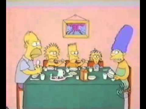 Simpsons Shorts Dinner Time Closed Captioned