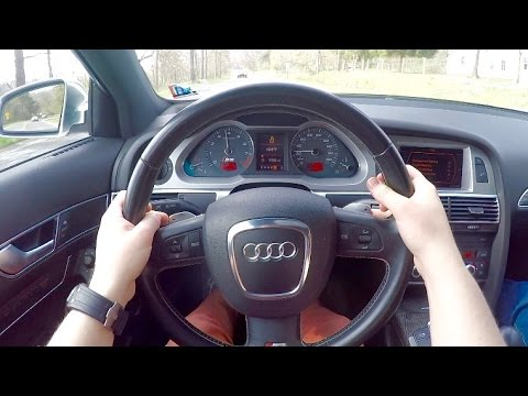 What It's Like to Drive a V10 Audi S6 (POV + Exhaust Mic)!
