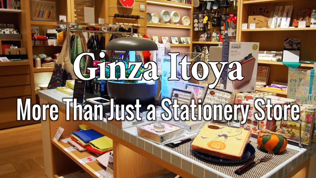 Ginza Itoya : More than just a stationery store