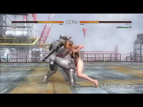 DOA 5 Ultimate Tina vs Hayabusa PS3 Ranked Fight 720p