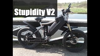 Insanely fast DIY electric eBike V2 - I want more POWER!