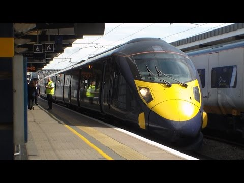 Trains and Disruption at Ashford Station - Monday 9th July 2014