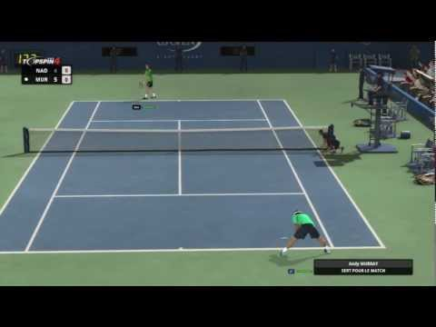Top Spin 4 Rafael Nadal vs Andy Murray Us Open 2/3