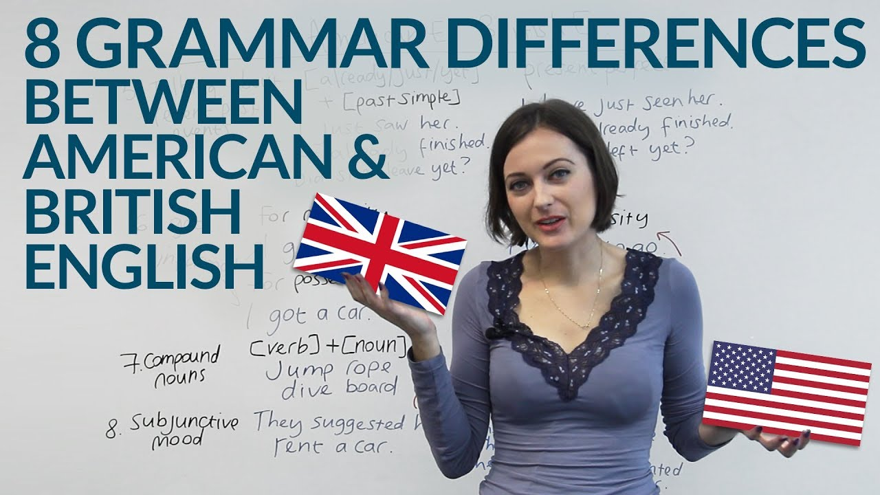 differences between british english and american Comparison of american and british english  leading to the versions now occasionally referred to as american english and british english differences between.