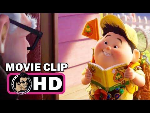 UP Movie Clip - Meet Russell (2009) Disney Pixar Animated Movie HD