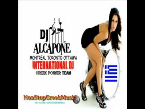 THE BEST GREEK DANCE MIX - DJ ALCAPONE (03/2013)  NonStopGreekMusic