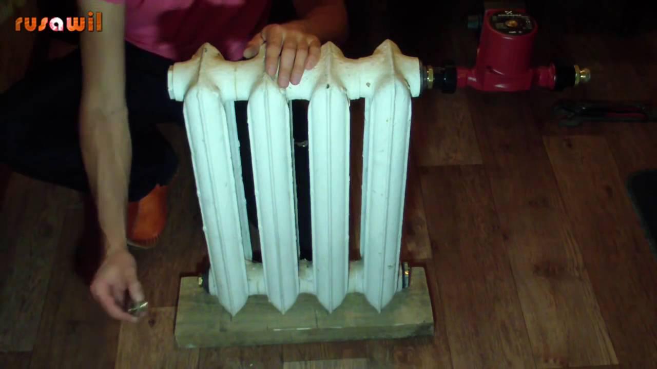 Своими руками сделать радиатор