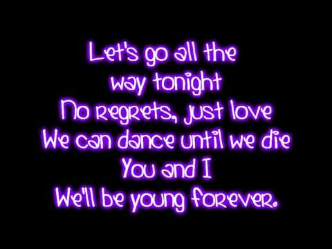 Teenage Dream - Katy Perry Lyrics video