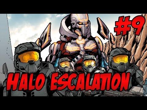 Halo Escalation #9 Reseña | Mundo Forge del Compositor