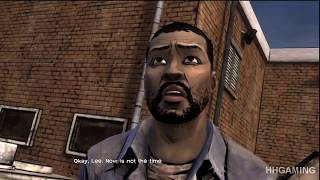 The Walking Dead Game - episode 5 Full Episode Alternative choices Alternate scenes Lee ALONE