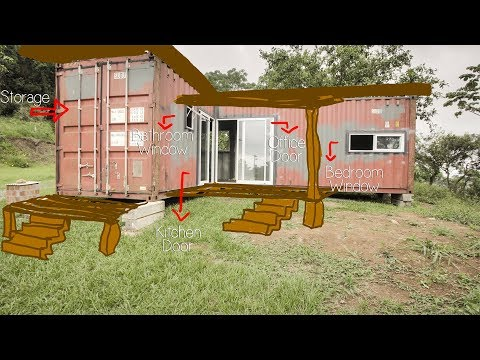 Shipping Container House 3 Months Building Review - Living Tiny Project - Ep. 012