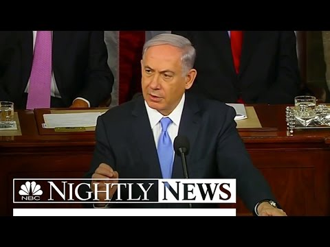 Netanyahu Blasts Iran Nuclear Deal in Controversial Speech   NBC Nightly News