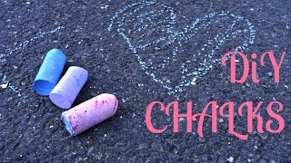 DiY Křídy - homemade chalks