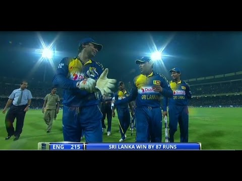 Highlights: 7th ODI, England in Sri Lanka 2014