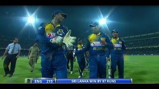 Highlights: 7th ODI, England in Sri Lanka 2014