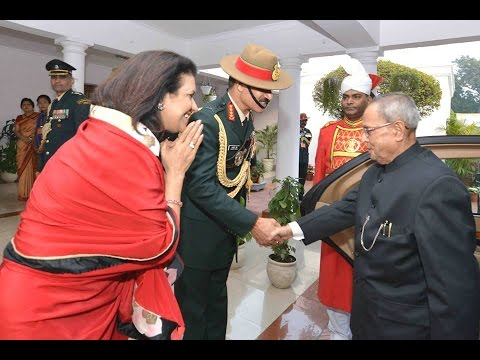 SlideShow-Hon'bleRastrapathyJi-attendingReception on the Occasion of ArmyDay-EdweepNews.