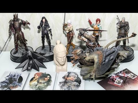 Распаковка пяти фигурок по Ведьмаку + Бонусы \ The Witcher 3 Wild Hunt