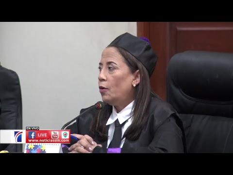EN VIVO Juicio de fondo caso Emely Peguero 04/10/2018