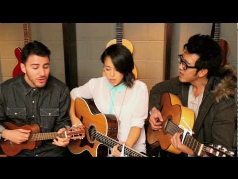 Ho Hey - Kina Grannis ft. Hunter Hunted (The Lumineers Cover)