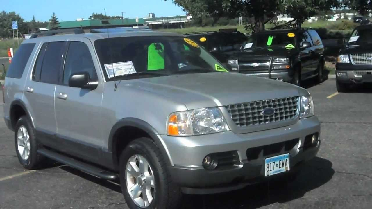 2003 ford explorer xlt 4x4 4 0 v6 leather youtube. Cars Review. Best American Auto & Cars Review