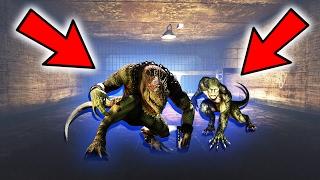 GTA 5: SECRET ALIEN LIZARD PEOPLE FOUND!! (GTA 5 Mystery)