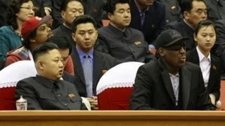 Dennis Rodman Meets North Korea